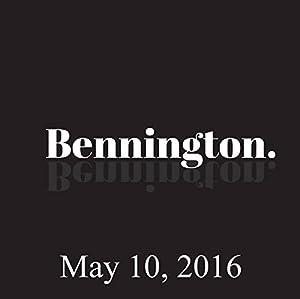 Bennington, Chloe Sevigny, Whit Stillman, Michael Moore, May 10, 2016 Radio/TV Program