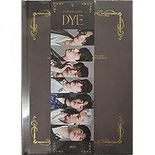 K-POP GOT7 - DYE, 11th Mini Album, Ver. 5 incl. CD, 80pg PhotoBook, PhotoCard, Mirror Card, Bookmark, PreOrder Benefit, Folded Poster, Extra Photocards