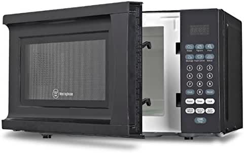 Westinghouse 0.7 Cu. Ft. 700W Countertop Microwave, Microwave Ovens, Black