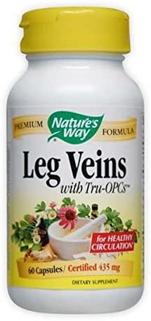 Leg Veins Nature's Way 60 Caps