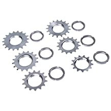 Generic Single Speed Bicycle Freewheel Steel Bike Flywheel Sprocket Cog Fix Gear