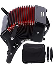 Piano Accordion, Professional 8 Bass Accordion Adjustable for Students for Beginners