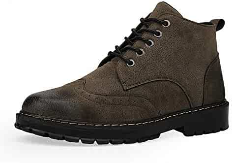 f0c4cbd7a96 Dig dog bone Men s Ankle Boots Casual and Comfortable High Top Packed The  Martin Boots