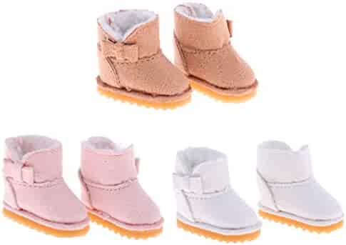 1//6 Shoes Snow Boots for 12inch Neo Blythe 1//6 BJD LUTS DOD Doll Clothes Outfit