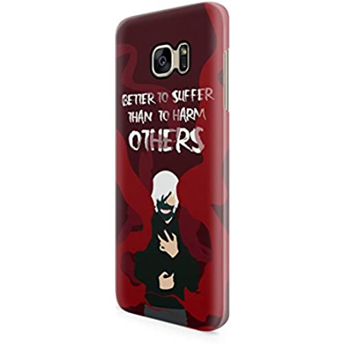 Tokyo Ghoul Kaneki Ken quote Hard Plastic Snap-On Case Skin Cover For Samsung Galaxy S7 Edge Sales