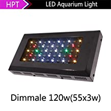 YZL/ 553W high power LED aquarium light soft and hard coral water/marine fish tank lights/lighting/bright Aquarium lights , black shell multi spectral