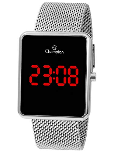 Relógio LED Digital  Champion, Feminino, CH40080T