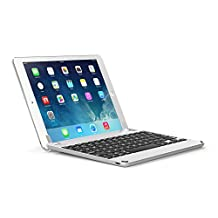 Brydge 9.7 Bluetooth Keyboard for NEW Apple iPad 9.7, Pro 9.7, Air 1 & 2 – Silver
