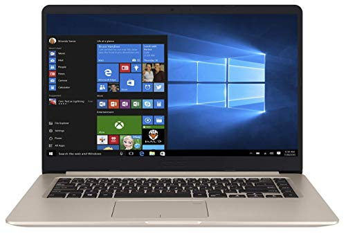 ASUS VivoBook X510QA-EJ202T AMD Quad Core A12-9720P 15.6-inch FHD Thin and Light Laptop (8GB RAM/512GB NVMe SSD/Windows 10/Integrated Graphics/FP Reader/1.70 kg), Gold