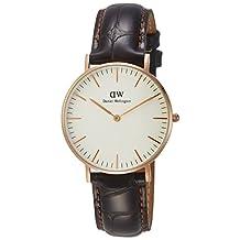 Daniel Wellington Women's 0510DW Classic York Analog Display Quartz Brown Watch