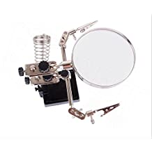 Magnifying Glass Workstation with Desktop Stand (5x Magnification Lens) (5X Manifier)