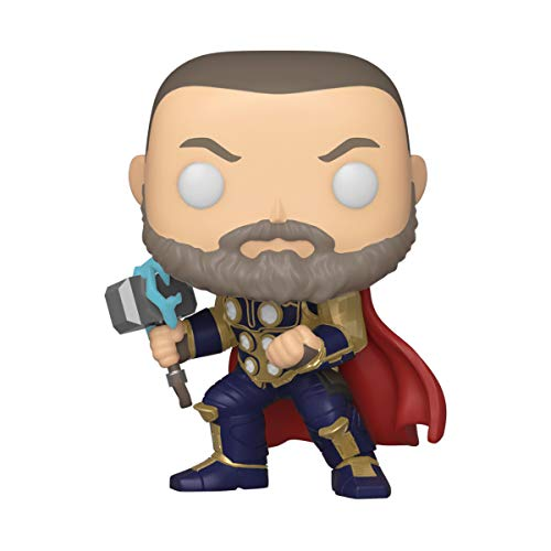 Funko Pop! Marvel Avengers Game- Thor (Stark Tech Suit), Multicolor