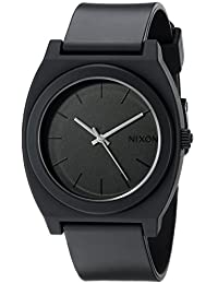 Nixon Men's Plastic Analog Black Dial Watch A119-524