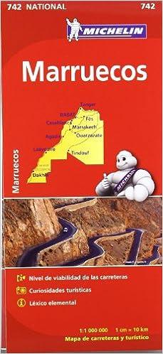 Mapa National Marruecos (Mapas National Michelin): Amazon.es: VV ...
