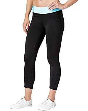 Performance Women's Colorblocked Waist Capri Leggings