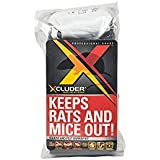 Xcluder Rodent Control Steel Wool Fill Fabric DIY Kit, Large