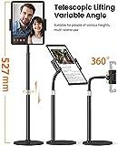 LISEN Tablet Stand and Holder Adjustable, Tablet