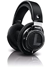 Philips Audio SHB9500//00 Hifi Precision Stereo Over-Ear Headphones, Black