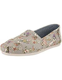 Seven Dwarfs Alpargata Women's Slip On 10 B(M) US Grey
