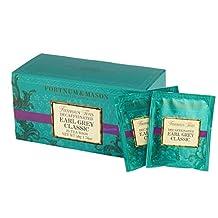 UK Fortnum & Mason (Fortnum & Mason) Earl Grey Classic decaffeinated 25 tea bag tea Earl Grey Classic DECAFFEINATED [parallel import goods]