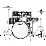 "Pearl Roadshow Drum Set Black 16""/13""/10""/8""/12"" RSJ465CC31"