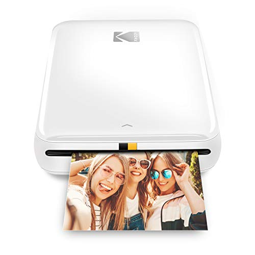 Kodak Step Wireless Mobile Photo Mini Printer (white)