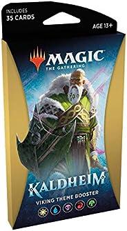 Magic The Gathering: Kaldheim| 35 cards, all based on a theme | Theme Booster Viking Unitário - Inglês