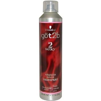 Got2b 2sexy voluptuous volume spray mousse