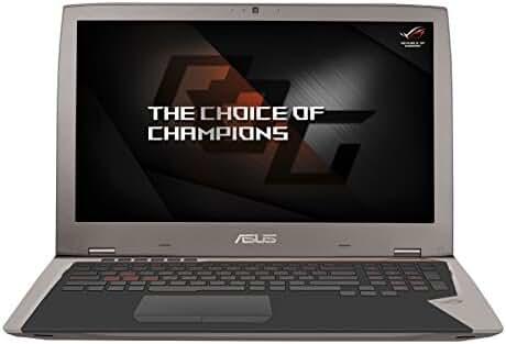 ASUS ROG G701VI-XS78K (i7-7820HK, 64GB RAM, 1TB NVMe SSD, NVIDIA GTX 1080 8GB, 17.3