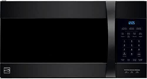 Kenmore Elite Over the Range Microwave Hood Combination Convection Oven 1.8 Cu. Ft. 1000 Watts Black 80379