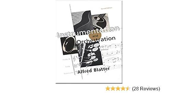 INSTRUMENTATION AND ORCHESTRATION BLATTER PDF
