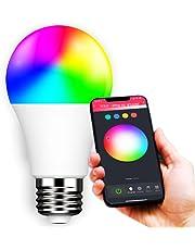 Lâmpada Inteligente Bulbo Led Rgb Smart Wifi Colorida Bivolt Alexa Google