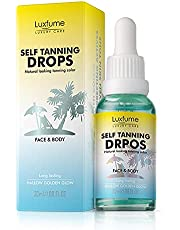 Self Tanning Drops for Face and Body, Wheat Color Tanning Essentials for Women, Self Tanner Lotion, Self-Tanning Serum, Professional Self Tanner Drops, Suitable for Men, Women and Teenagers