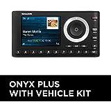 SiriusXM SXPL1V1 Onyx Plus Satellite Radio with Vehicle Kit with Free 3 Months Satellite and Streaming Service, Onyx Plus with Vehicle Kit
