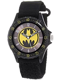 "Batman Boys 'BAT5038 Negro""time Teacher"" Batman reloj"