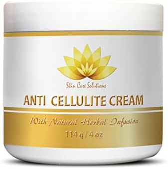 Lose cellulite - ANTI CELLULITE CREAM with Natural Herbal Infusion - Personal health and wellness - 1 Jar (4 Oz)