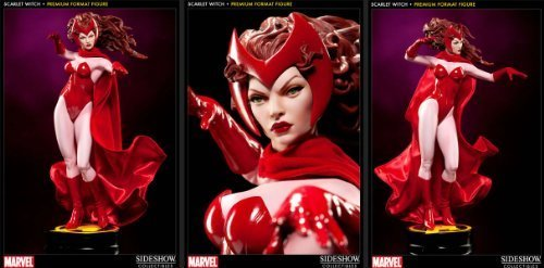 Sideshow Collectibles - Marvel Premium Format Figure 1 4 Scarlet Witch 48 cm by Sideshow