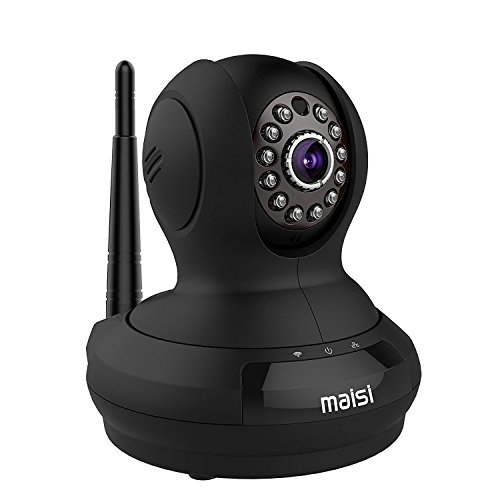-[ [UPGRADED] MAISI HD 1MP Wireless Security IP Camera with 3dB ENHANCED WiFi, Pet Monitor - Smart