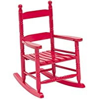 JACK-POST KN-10R Classic Childs Porch Rocker Red
