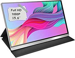 モバイルモニター モバイルディスプレイcocopar 15.6インチ スイッチ用モニター 非光沢IPSパネル 薄い 軽量 1920x1080FHD USB Tpye-C/mini HDMI/カバー付 3年保証付 dg-156mx