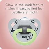 NUK Glow-in-The-Dark Orthodontic Pacifiers