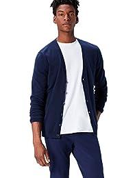 Amazon Brand - find. Men's Cotton Button Down Cardigan Sweater
