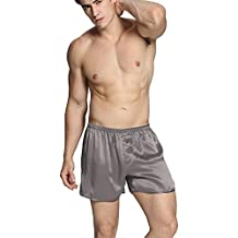 LILYSILK Mens Silk Short Pajama Bottom Mens Underwear Silk