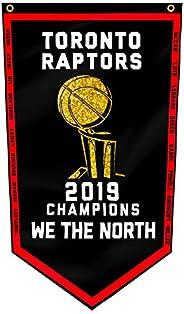 Toronto Raptors Flag NBA Large 3X5Ft 2019 NBA World Champions We The North Grommets Indoor House Banner 3'