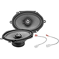 2001-2004 Ford Mustang Front Door 6 x 8 150 Watt Replacement Upgrade Speakers by Skar Audio