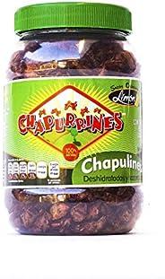 CHAPURRINES/BOCHA PET CHAPULINES HORNEADOS Y DESPATADOS SABOR LIMON/BOTE DE 80 G/HECHO EN OAXACA