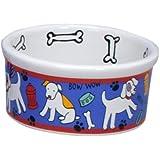 Signature Housewares Spot Dog Bowl, Small