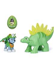 PAW Patrol, Dino Rescue Rocky and Dinosaur Action Figure-set, voor kinderen vanaf 3 jr.