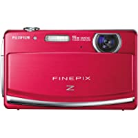 Fujifilm FinePix Z90 14 MP Digital Camera with Fujinon 5x Wide Angle Optical Zoom Lens and 3-Inch Touch-Screen LCD (Red) Advantages Review Image