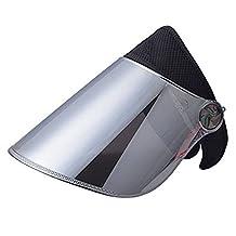 Sun Cap, WAYCOM Sun Visor Hat - UV Protection Hat - Headband Solar Face Shield Hat for Hiking, Golf, Tennis, Outdoors